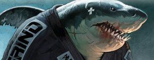 Ground Shark Print