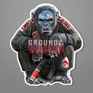 Gentle Chimp Sticker Die Cut