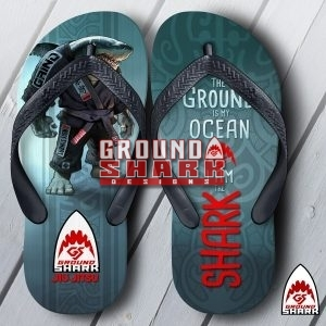 Ground Shark Mat Flip Flops
