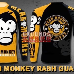 Mean Monkey Rash Guard