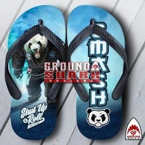 Panda Power Mat Flip Flops