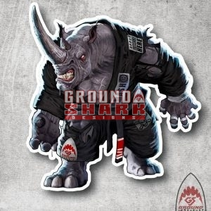 Pressure Rhino Sticker