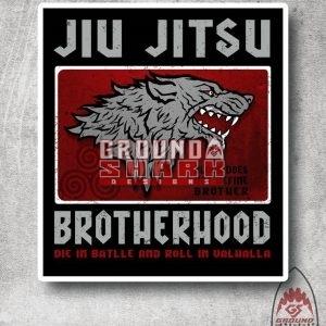 Valhalla Wolf Jiu Jitsu Sticker