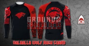 Valhalla Wolf Rash Guard