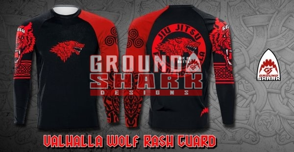 Valhalla Wolf Rash Guard